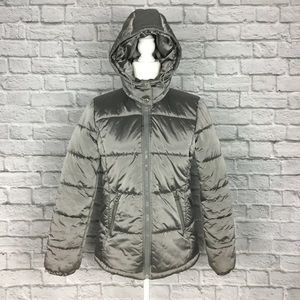 MICHAEL MK | Puffer Coat With Removable Hood, S